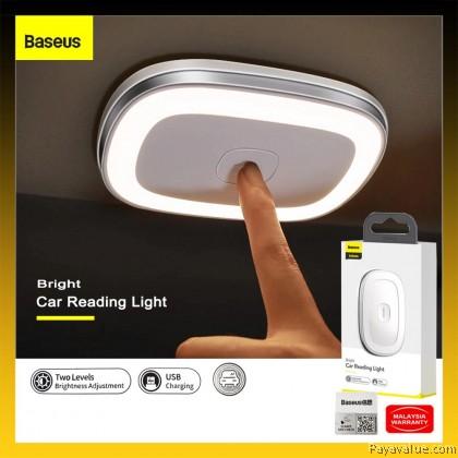 Original  Baseus Bright Car Reading Light Roof Light Magnetic Night Lamp USB Charged Brightness Adjustment Universal