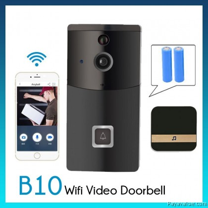 B10 Smart WiFi Video Doorbell Camera Visual Intercom With Chime Night vision IP Door Bell Wireless Home Security