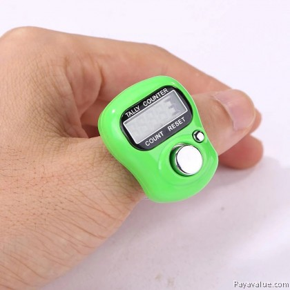 Tasbih Digital Display Finger Hand Tally Zikir Counter Hadiah Gift