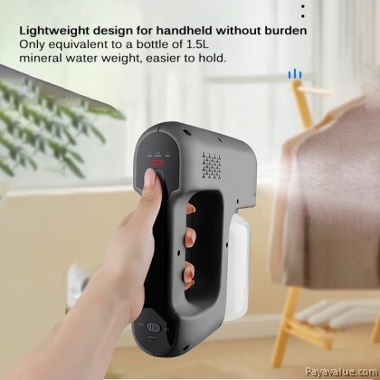 FAST SHIP Wireless Blue Ray Nano Disinfection Rechargeable Sanitizer Spray Gun Bottle Handheld Air Humidifier Purifier
