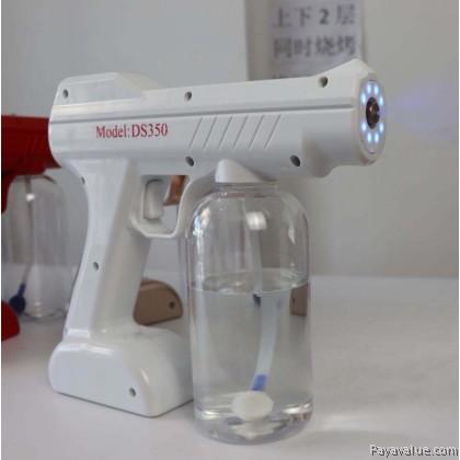 800ML Wireless USB Charging Nano Blue Light Nano Spray Disinfection Gun Atomizer DS350